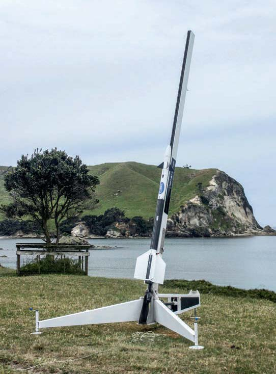 …launched from Great Mercury Island in New Zealand's Bay of Plenty.