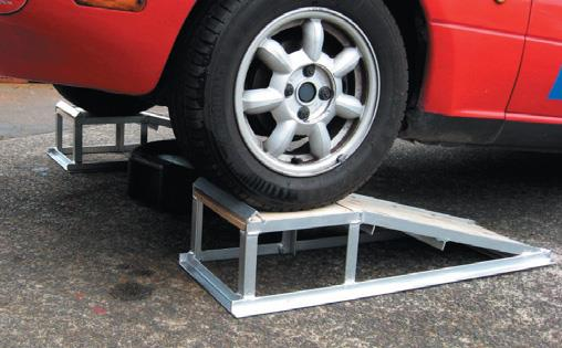 Your friends will borrow the ramps for oil changes