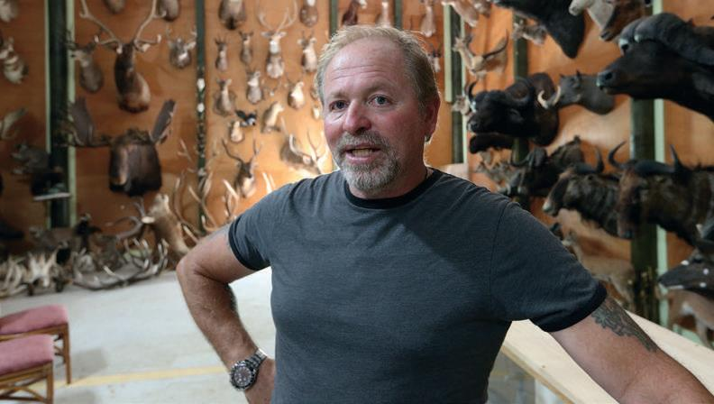 John Ward — the man behind the Taranaki taxidermy museum