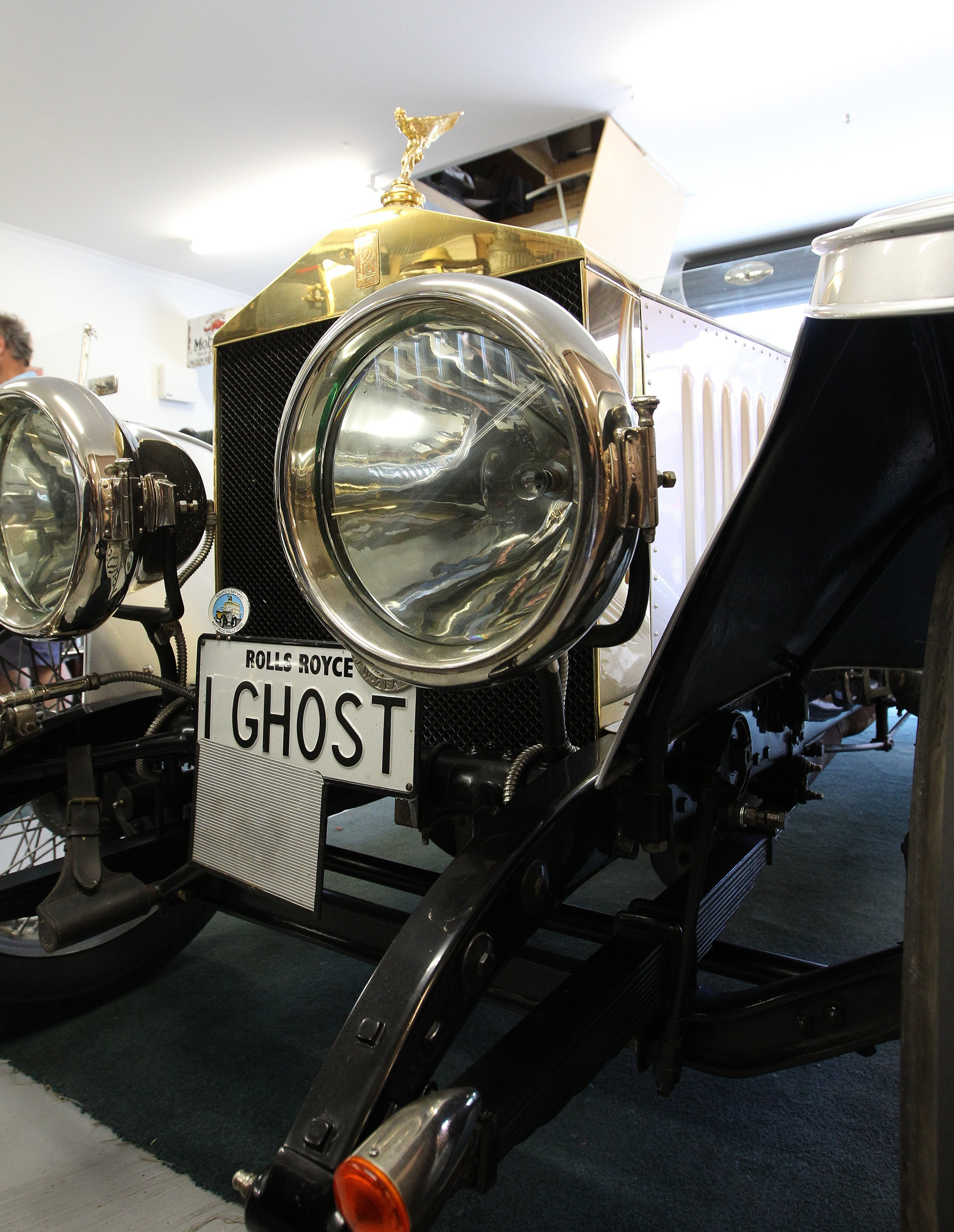 When headlamps were as much a feature as practicality