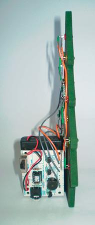 Rear right side with battery and board.
