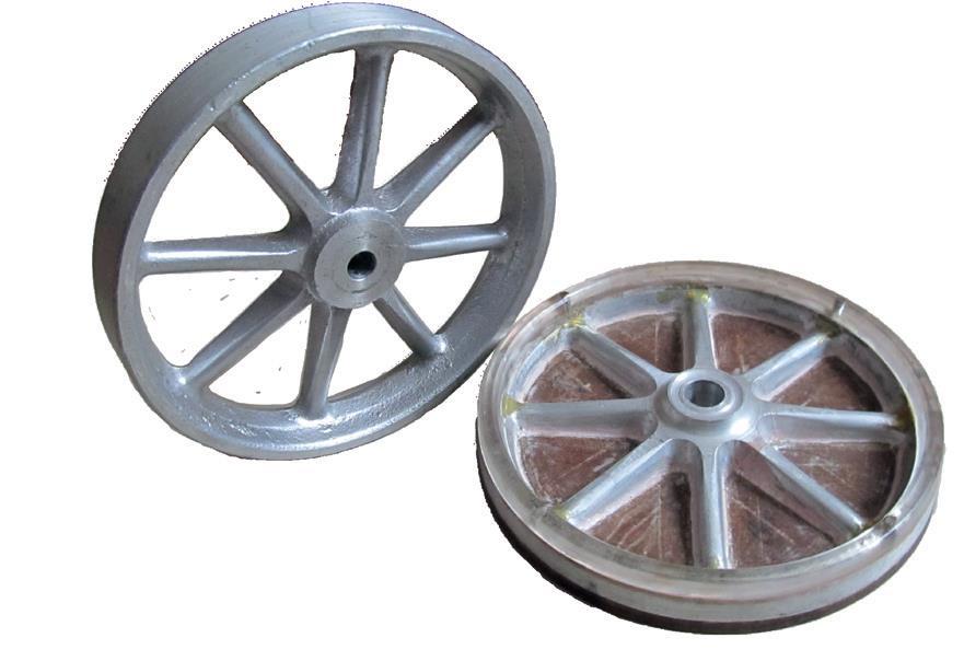 New wheel and original pattern