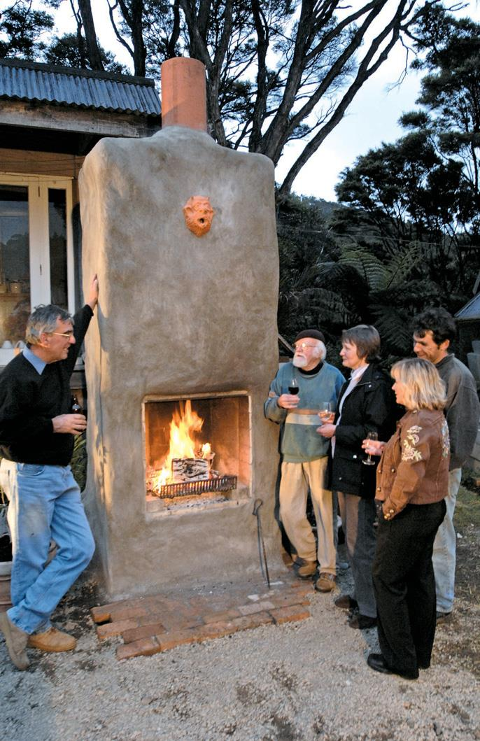 Build An Outdoor Fireplace The Shed, How To Build An Outdoor Fireplace With Bricks