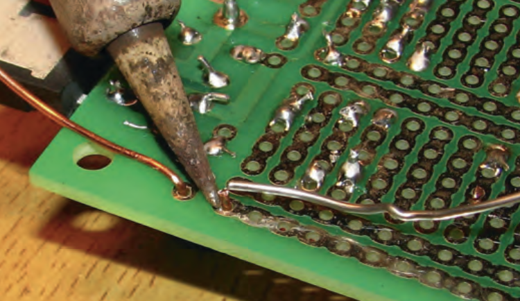 Kiwi Patch boards are a dream to solder.