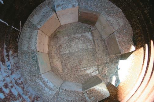 Firebricks circle finished.