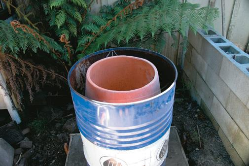 Pot installed.
