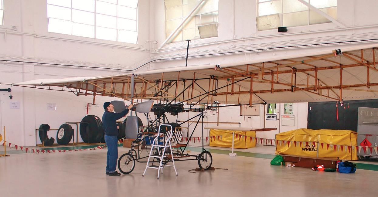 Ivan Mudrovich's interpretation of Richard Pearse's aircraft with...