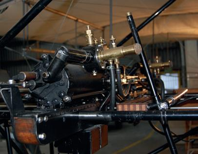 ...the recreated two-cylinder engine.