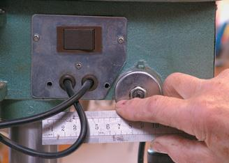Measuring switchplate