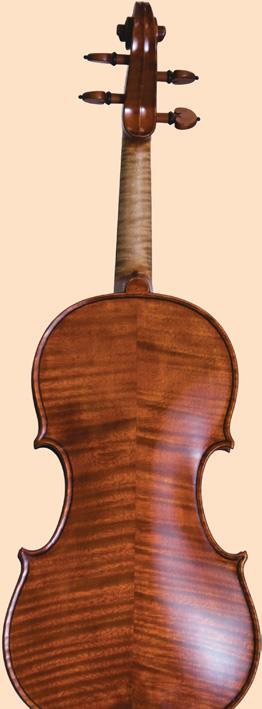 Maple fiddleback stripes.