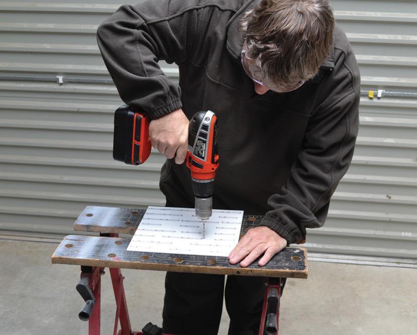 Drilling LED board