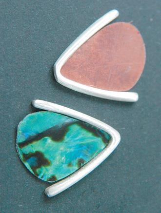 Copper templates shape wings.