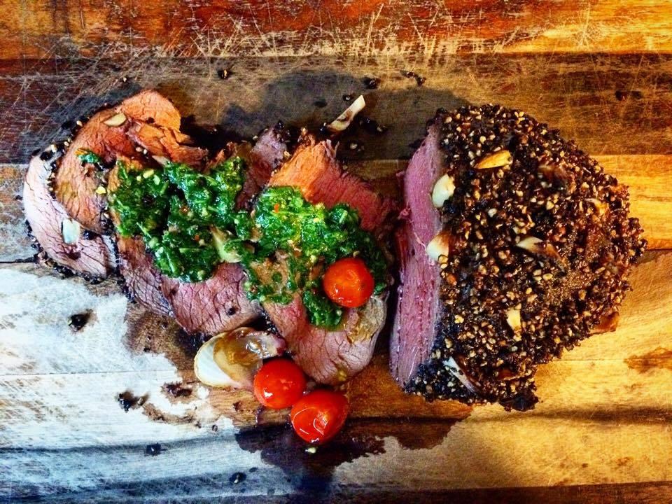 pronghorn roast chimichurri