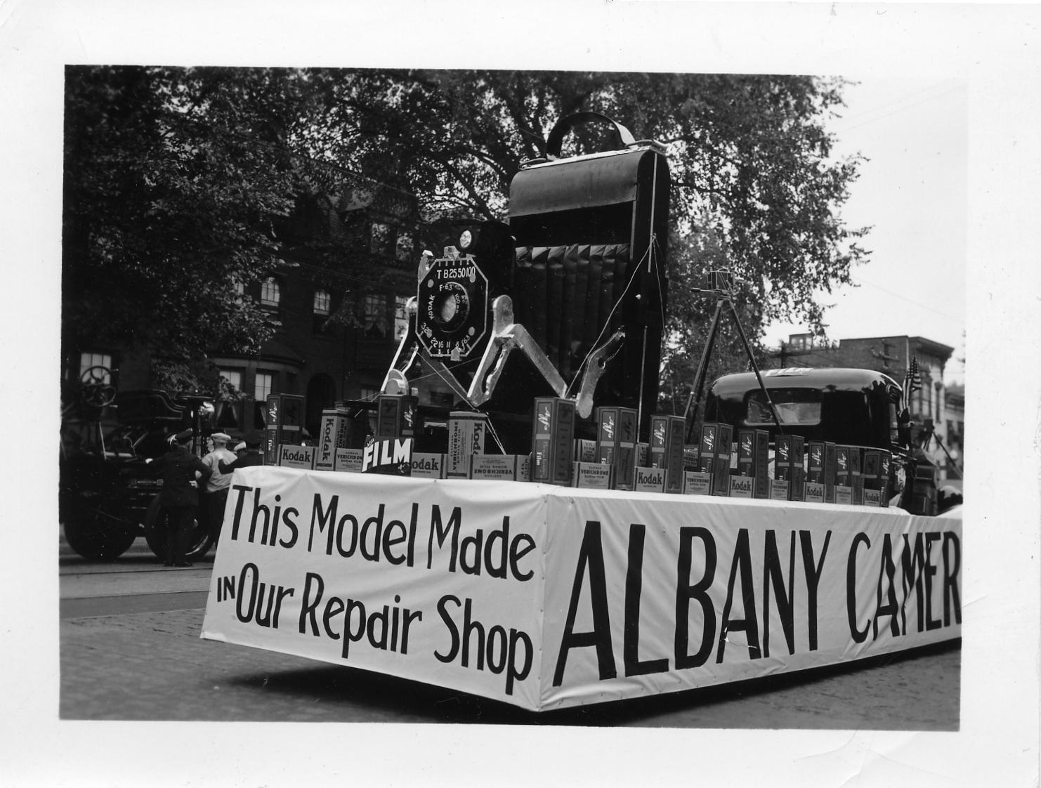 Albany Camera Shop Float