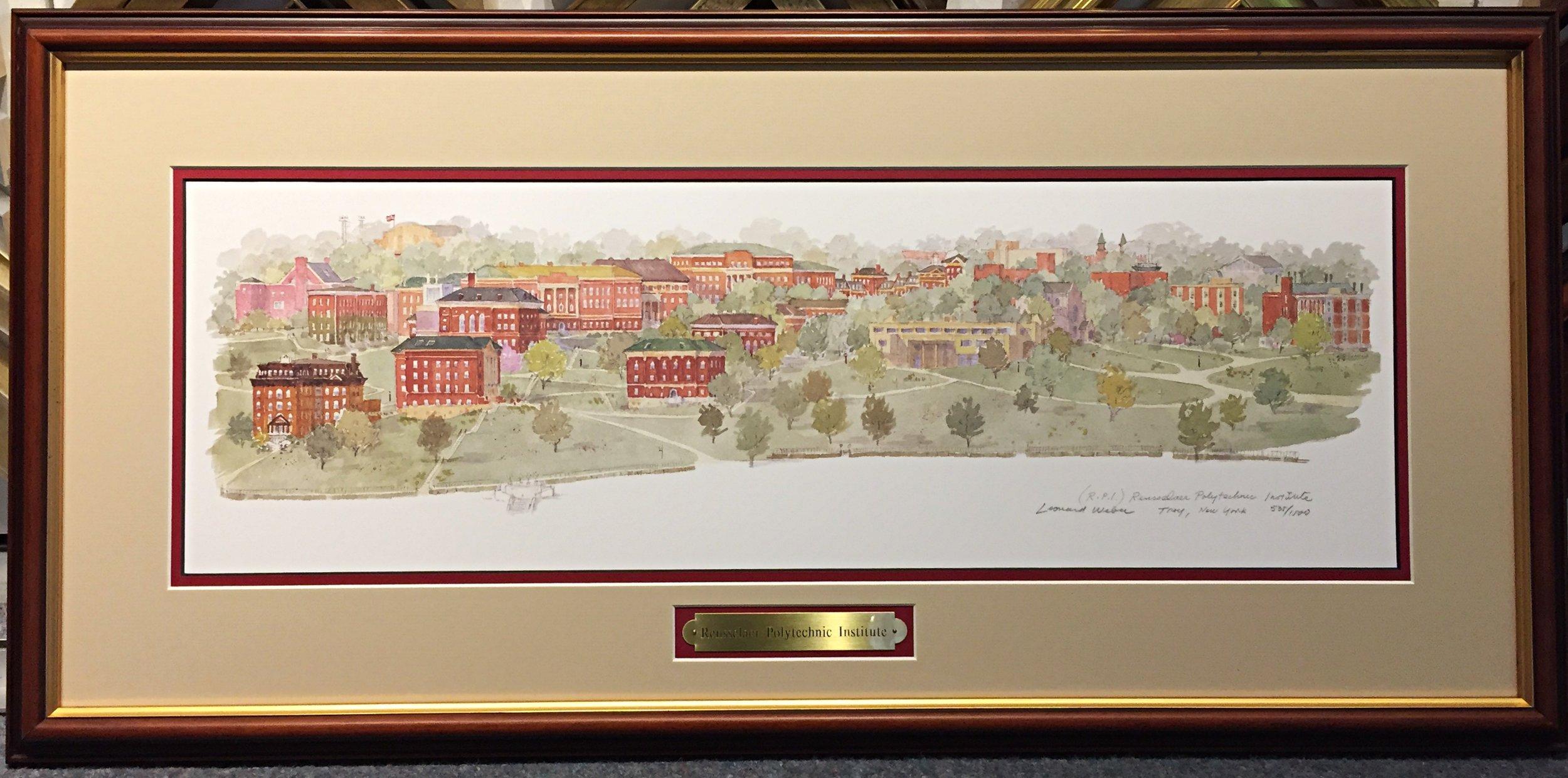 RPI Campus by Leonard Weber
