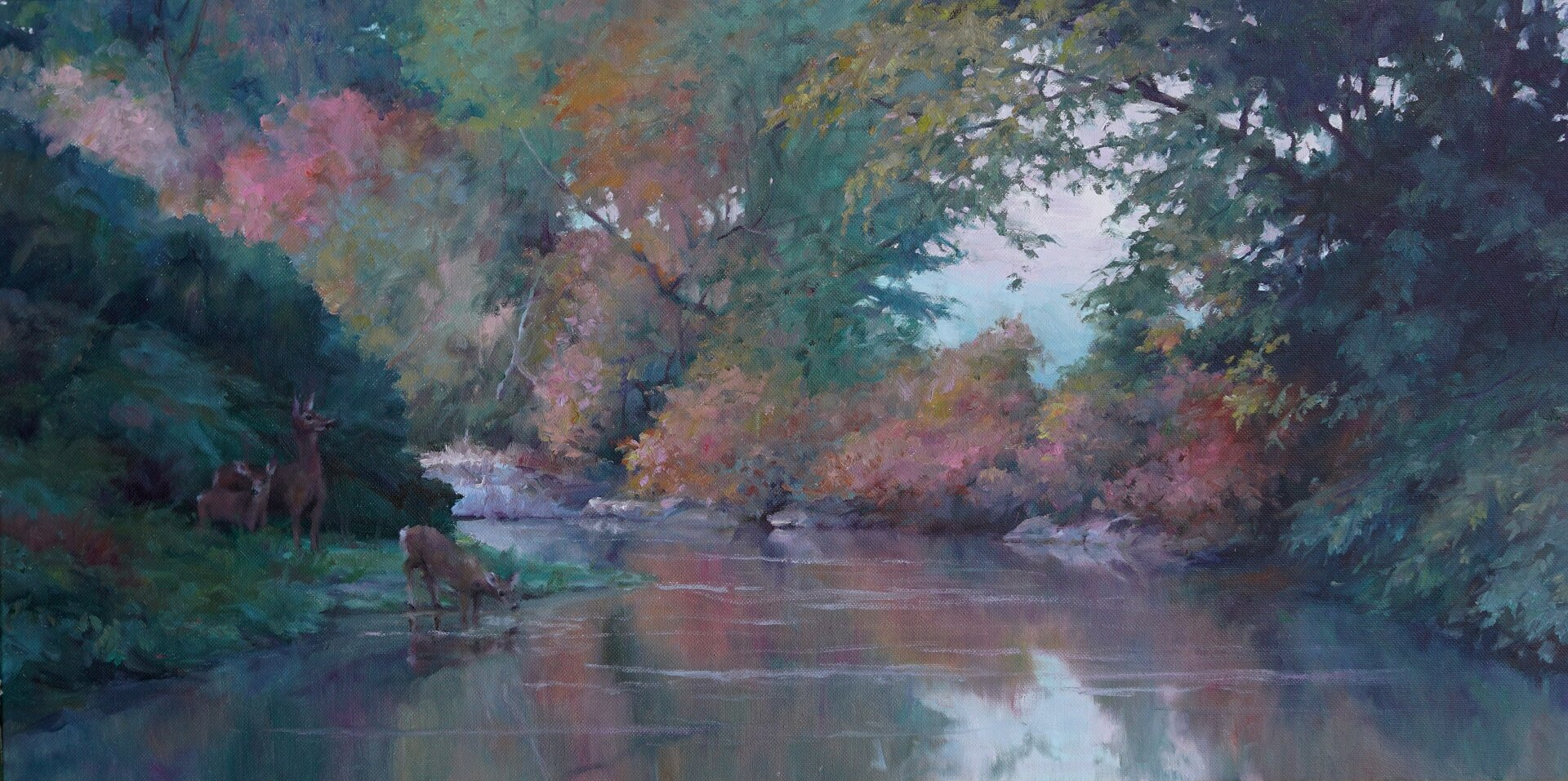 Schoharie Creek Sanctuary 15x30 $4,000