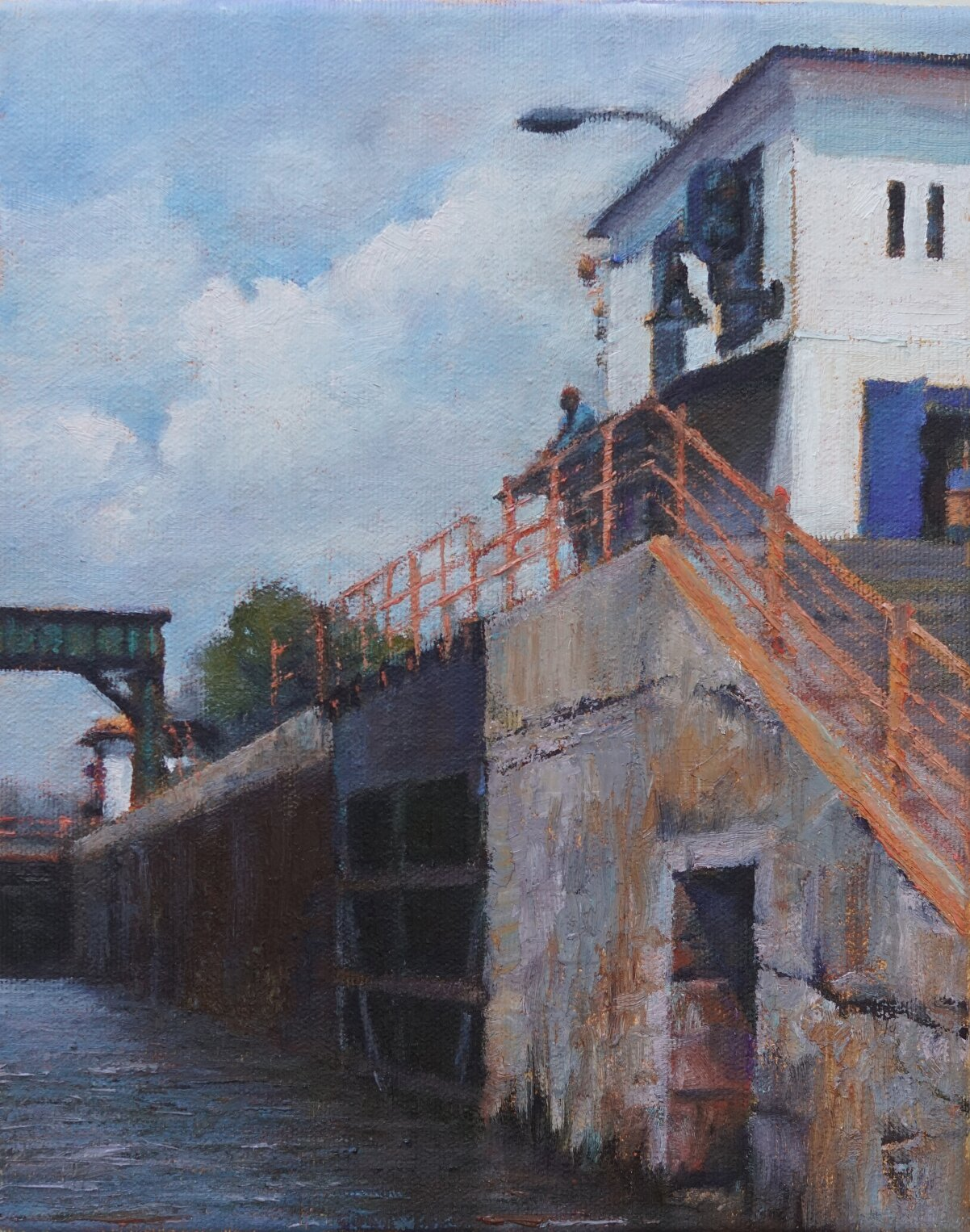 Into Lock 11 10x8 SOLD