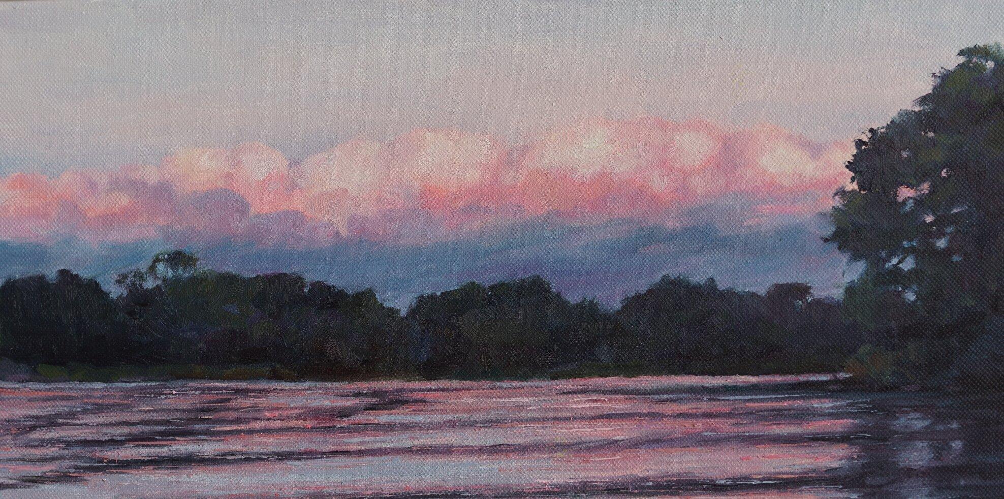 Mohawk Sunset 8x16 $650
