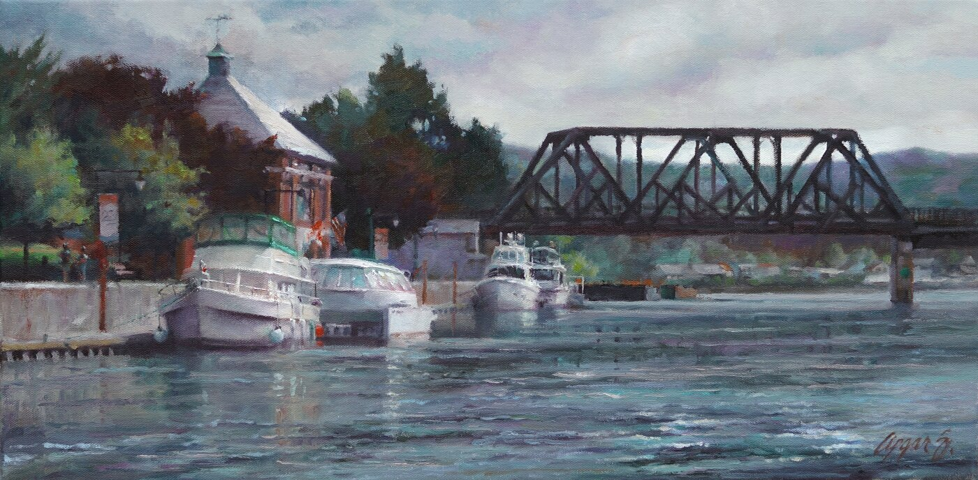 Waterford Harbor Visitors Ctr. 12x24 $1,600