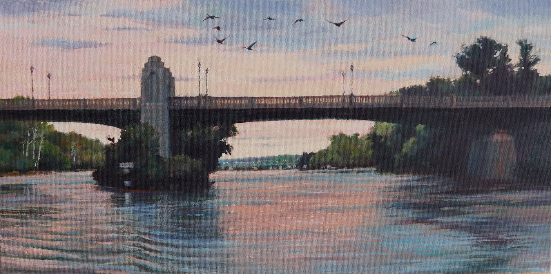 112th Street Bridge 12x24 $1,400