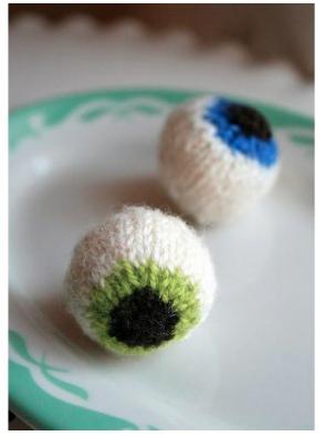 knit eyeballs by mary jane m