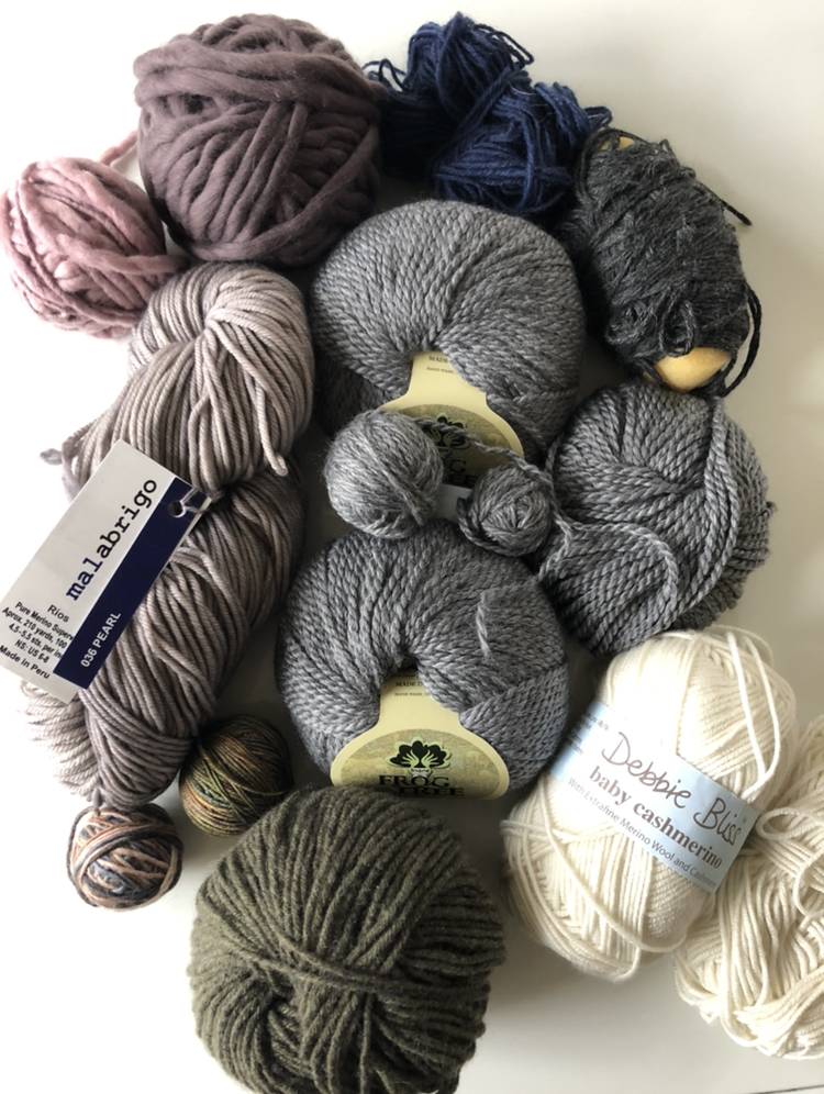 elisemade-yarn-test-knitting-parknknit-cable-scraps.jpeg