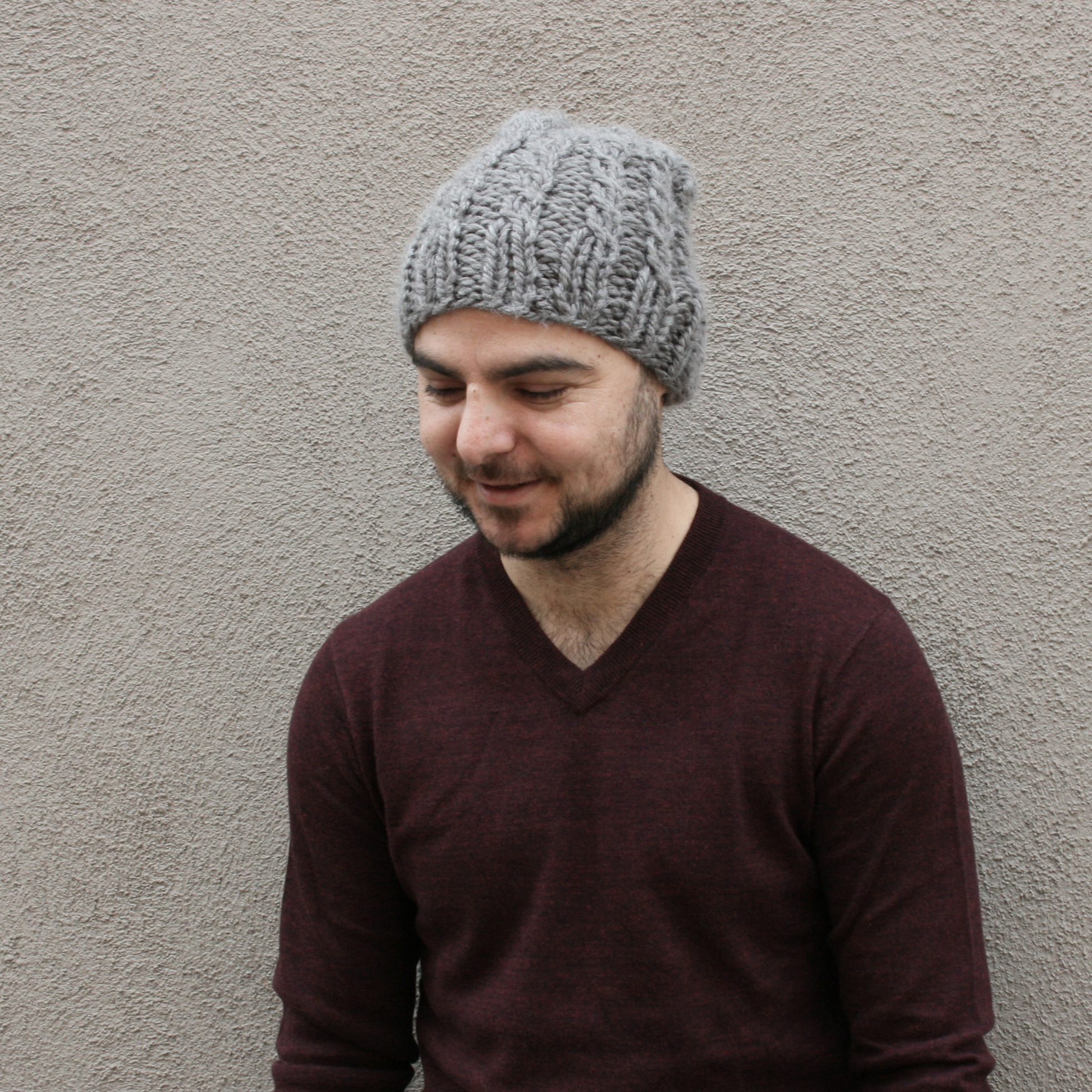 Pylon-chunky-knit-cable-ribbed-beanie-hat-knitting-pattern-by-elisemade
