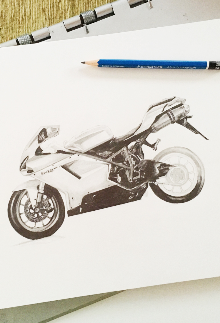 ducati-848-pencil-graphite-drawing-photo-realistic-motorcycle-elisemade-by-elise-lopez