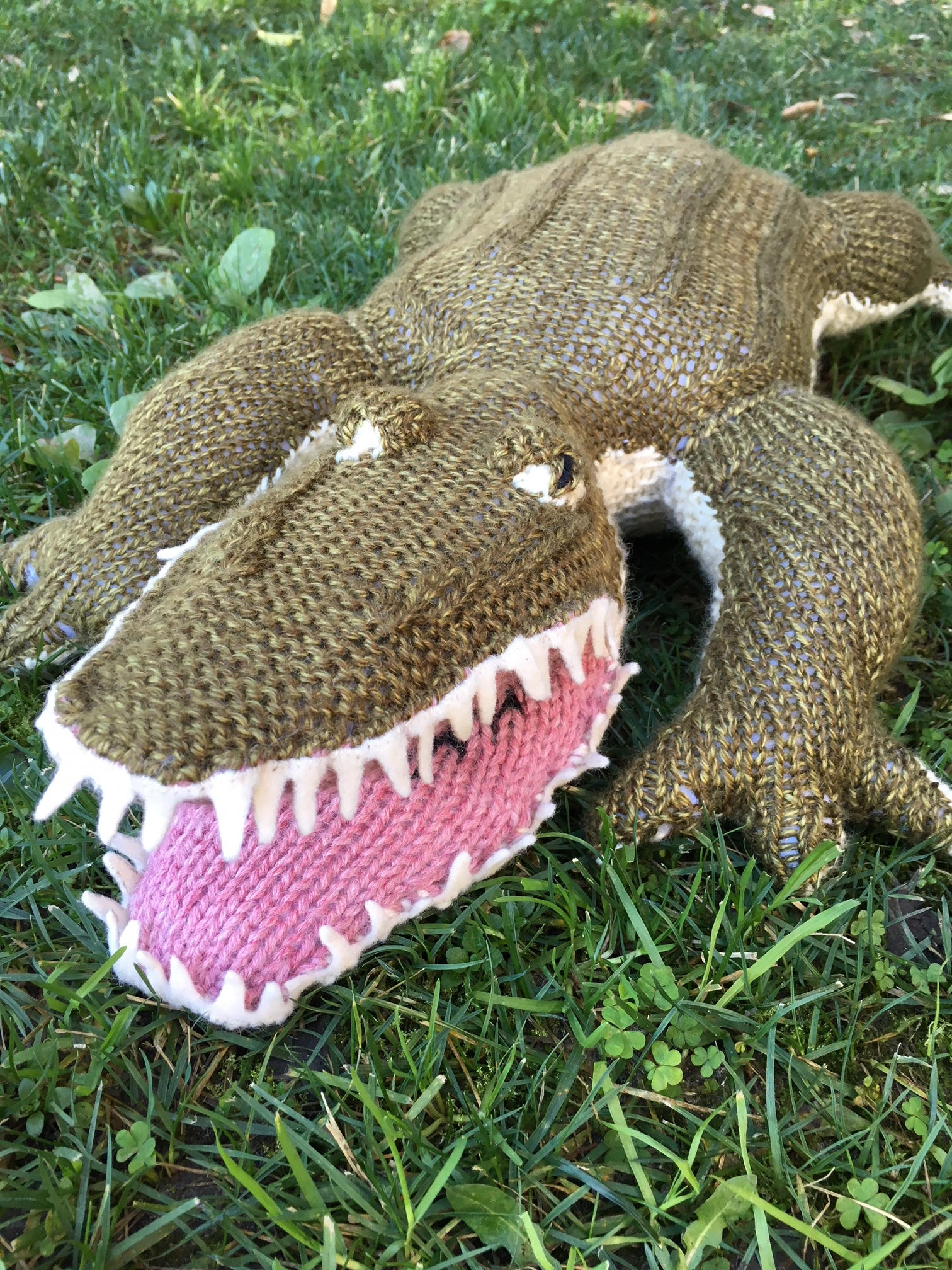 Custom Alligator Toy
