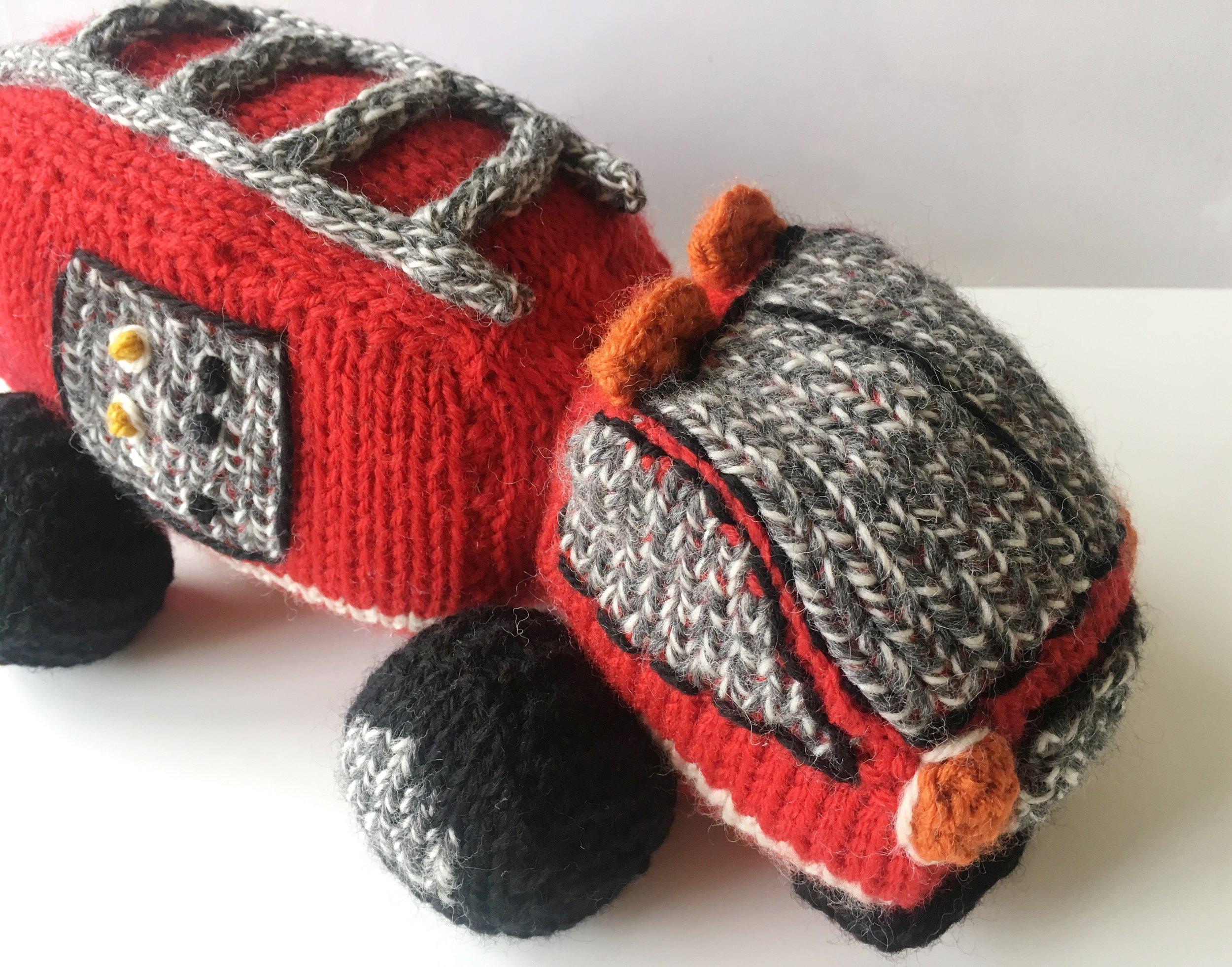 Custom Firetruck Toy