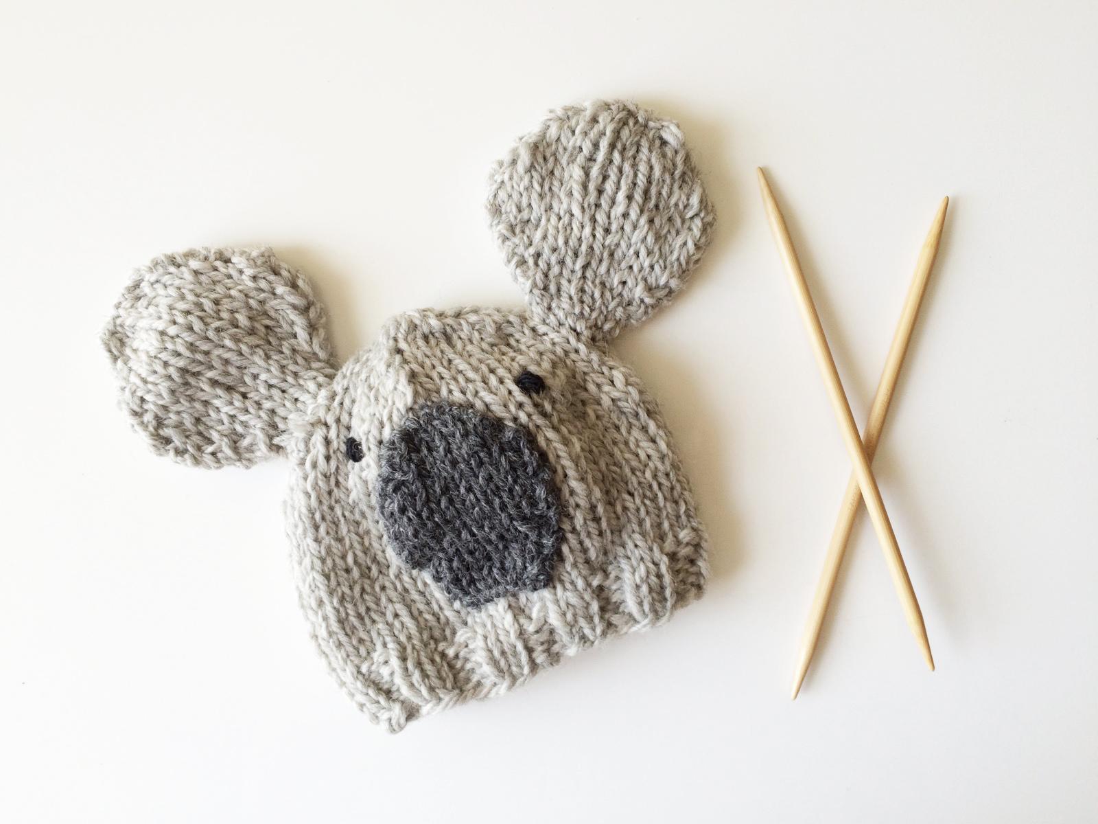 Custom Baby Koala Hat