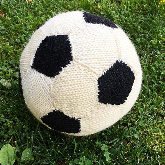 Knit Soccer Ball