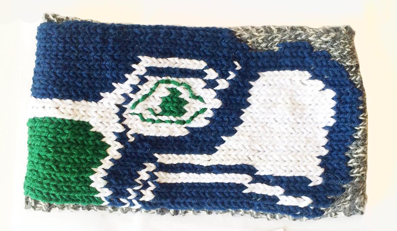Custom Seattle Seahawks Headband
