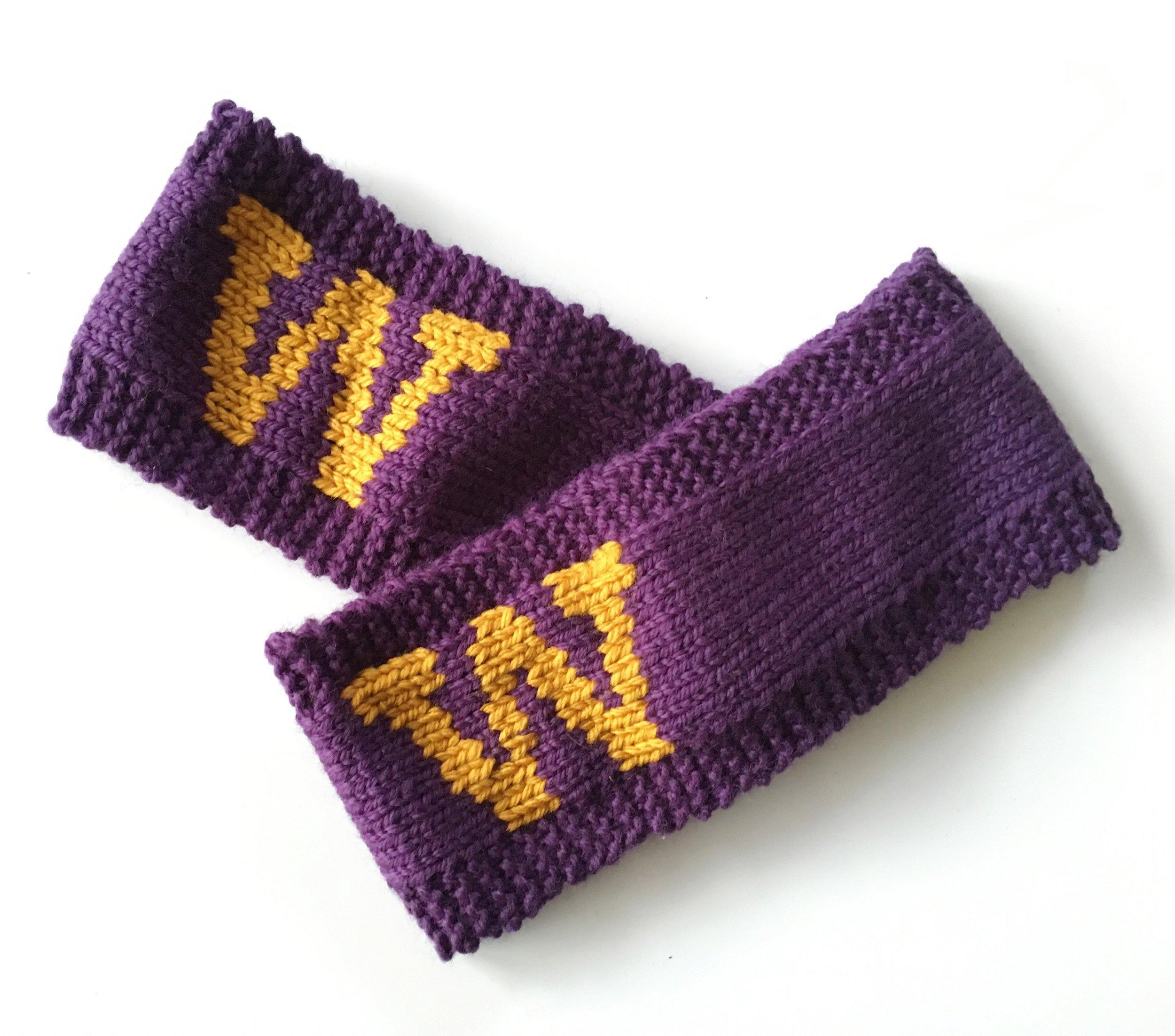 Custom University of Washington Headband