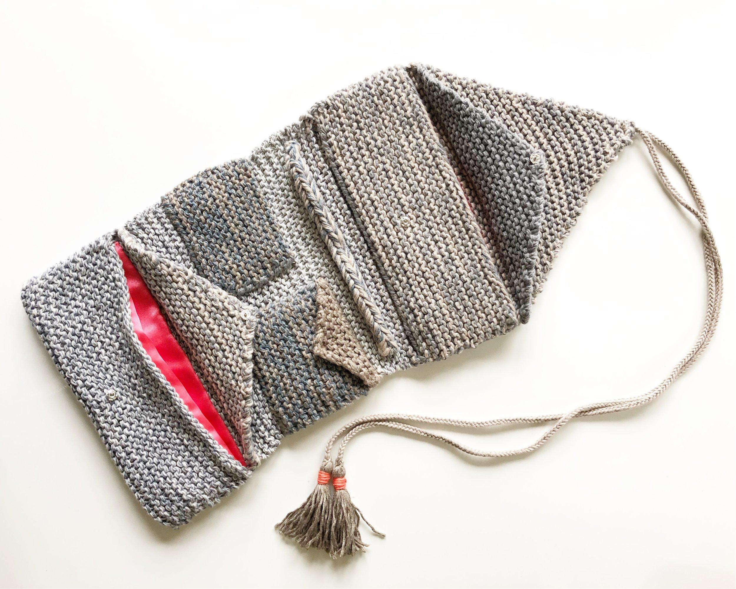 Knit Jewelry Roll