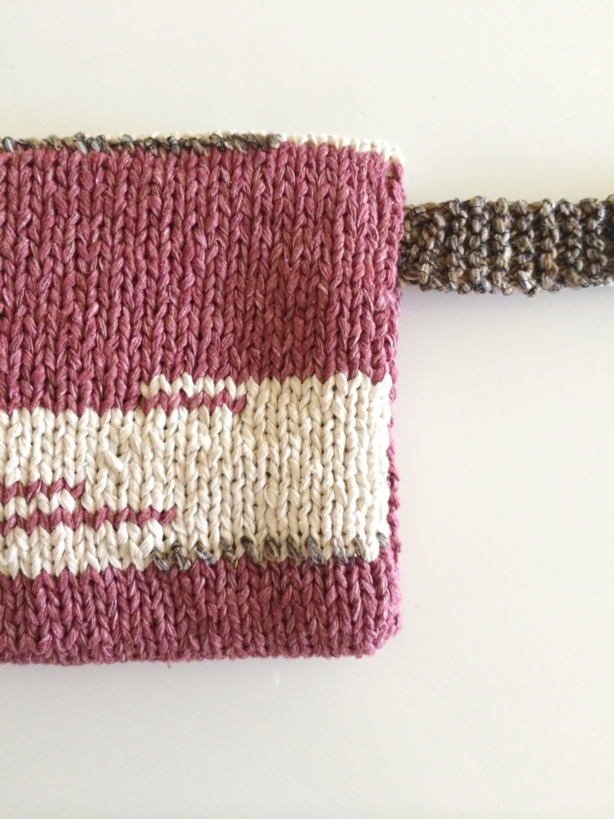 Custom Knit Pouch