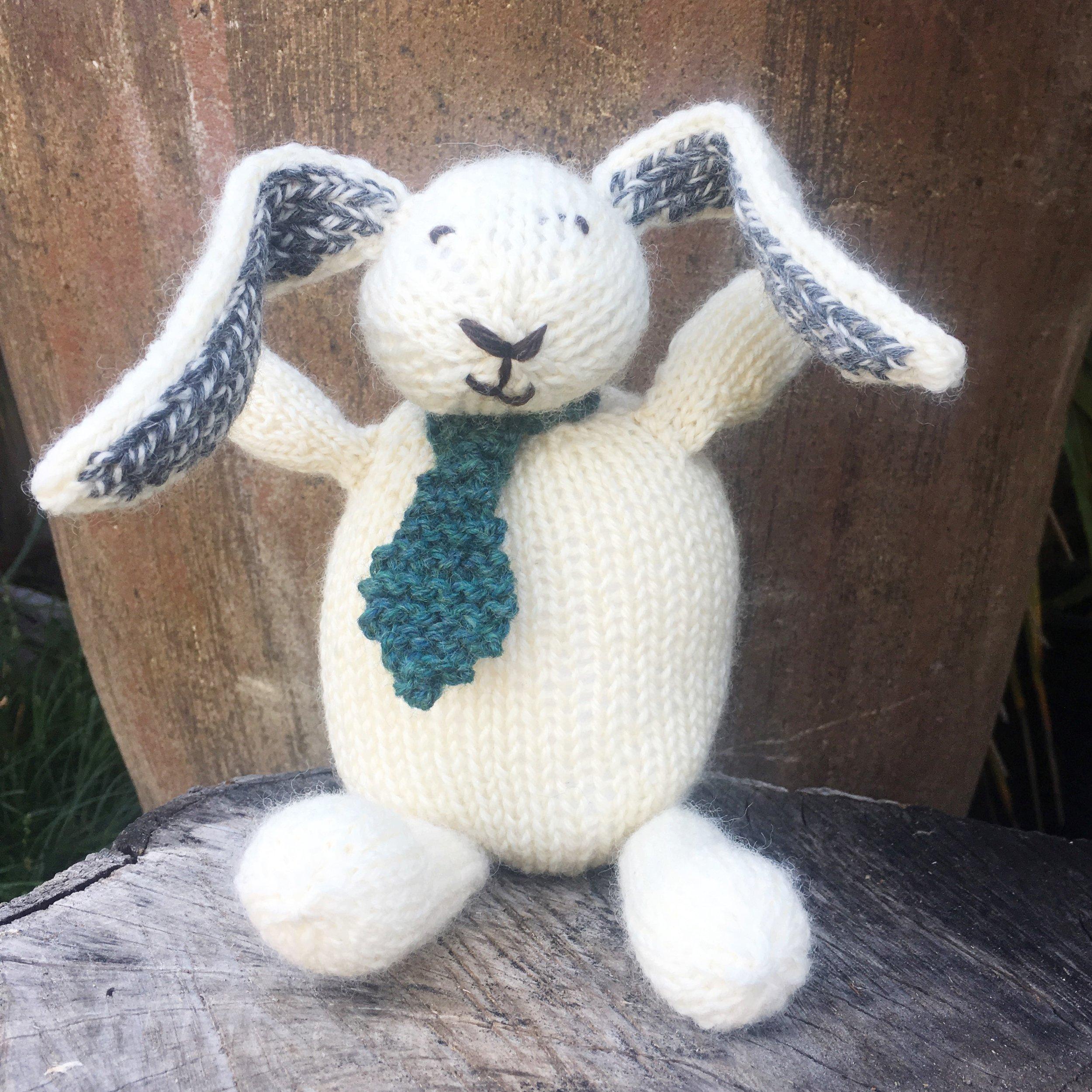 Custom Knit Bunny
