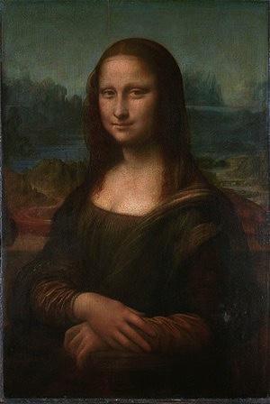 "Leonardo da Vinci 1500, ""Mona Lisa"""