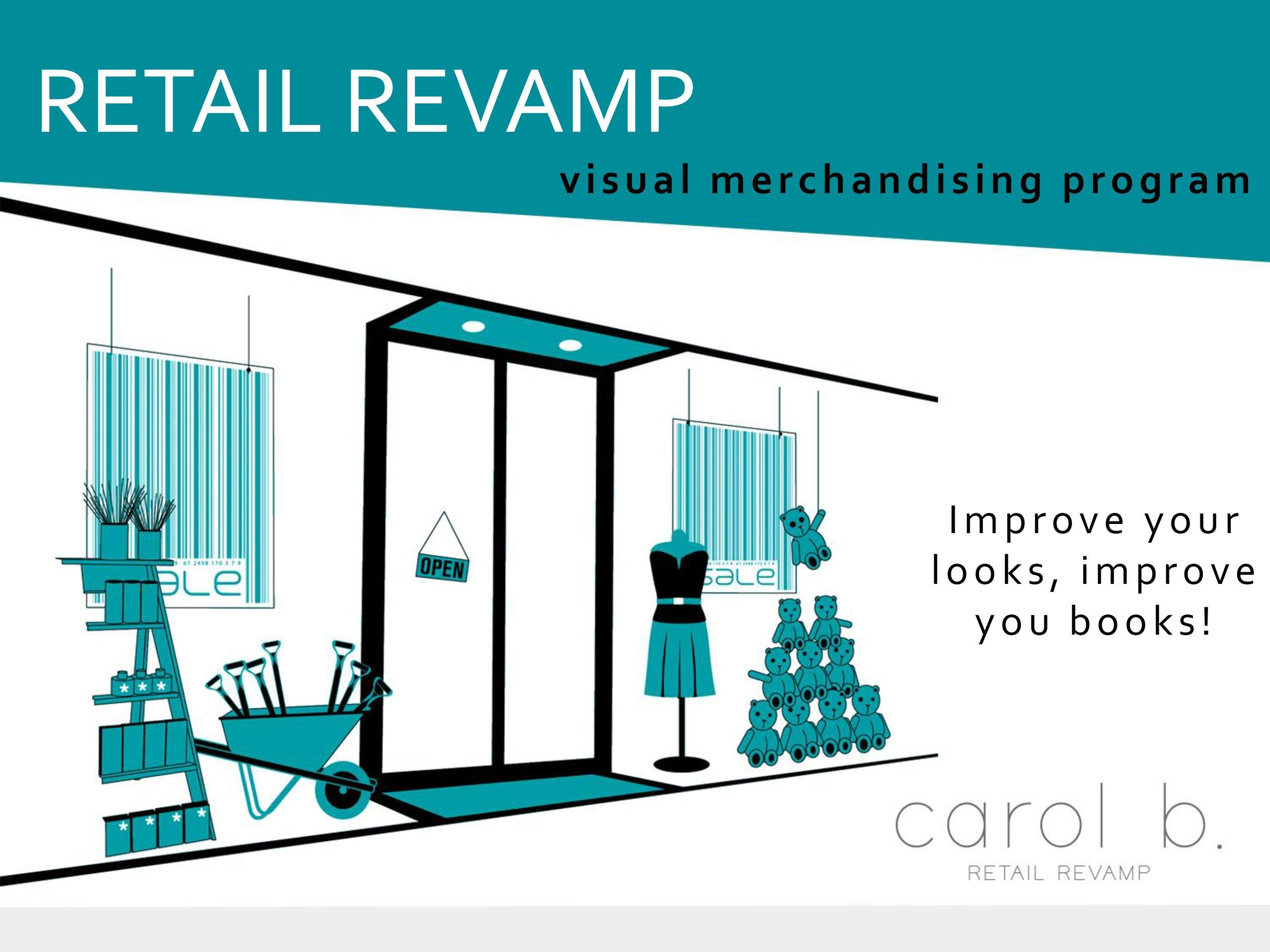Carol b. Retail Revamp Visual Merchandising Educator