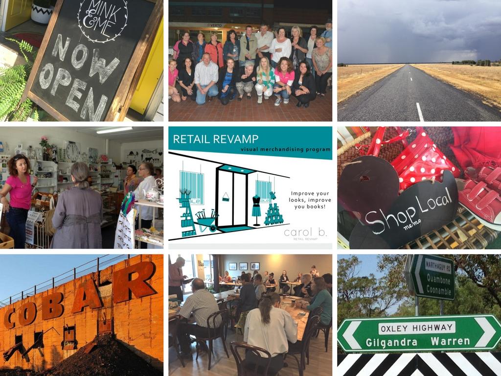 Caro b. Regional Retail Revamp - Visual Merchandising Educator