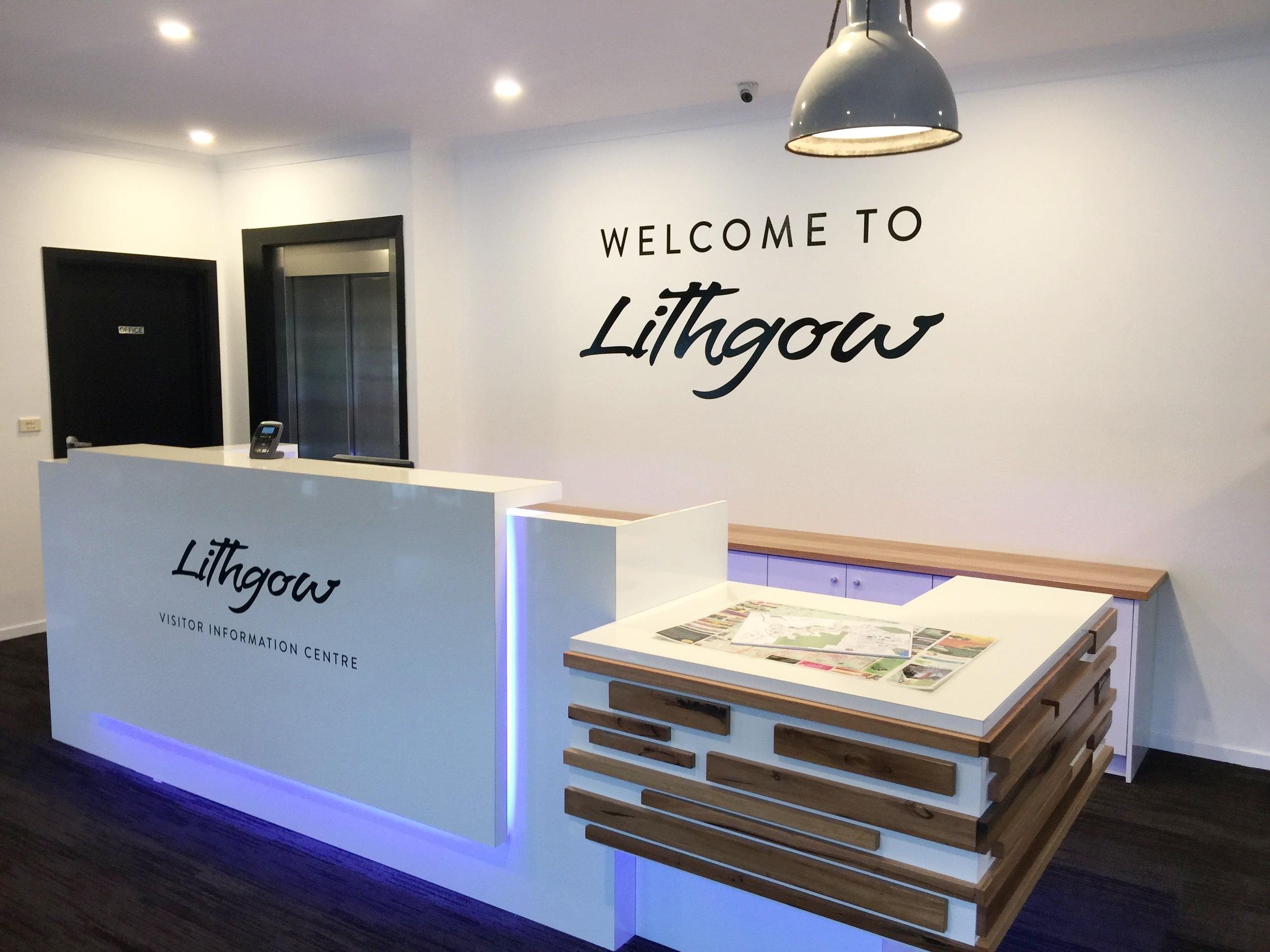 Carol b. Retail Revamp – Retail Design, Lithgow Visitors Information Centre