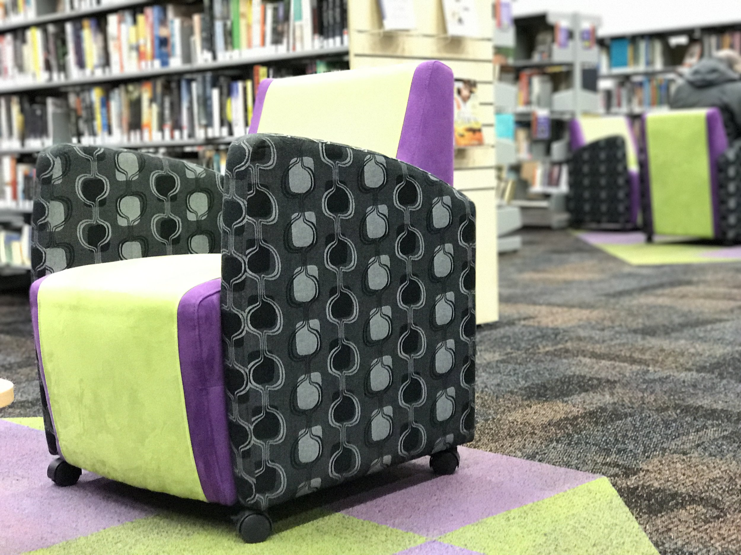 Carol b. Retail Design, Lithgow Library Learning Centre