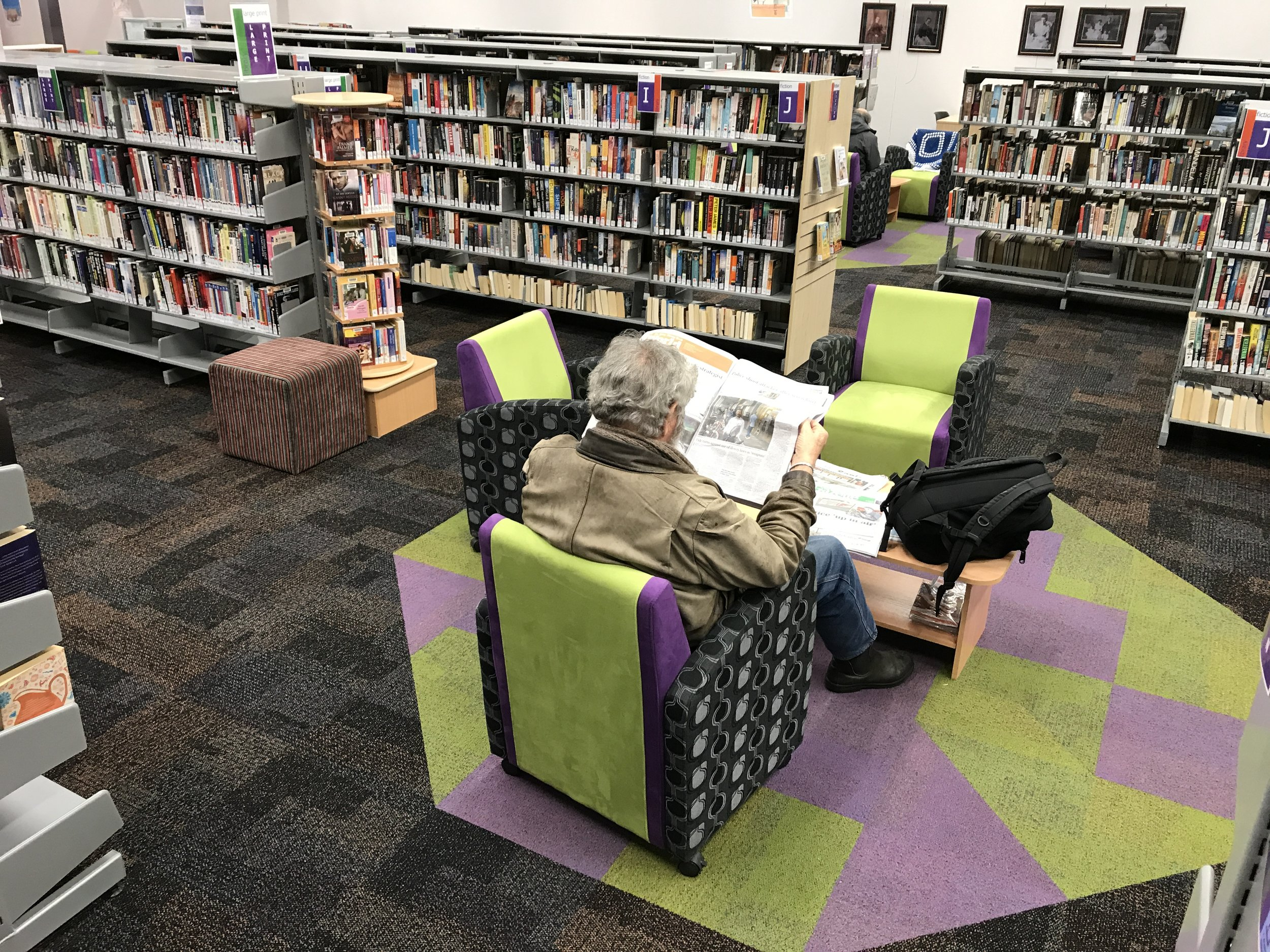 Carol b. Retail Revamp, Retail Designer, Lithgow Library Learning Centre