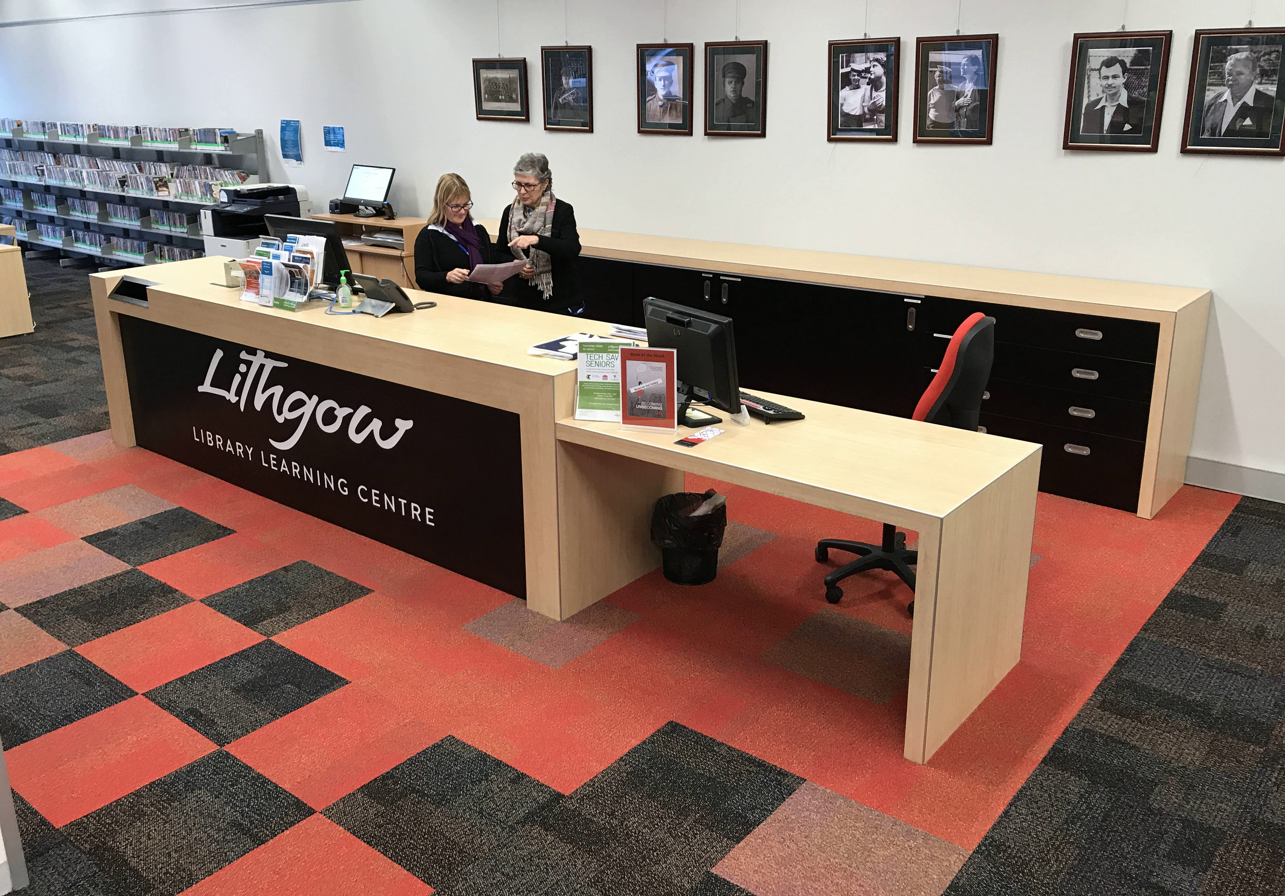 Retail Design, Lithgow Library Learning Centre Centre