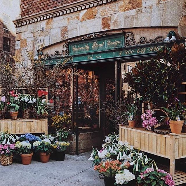 This NYC florist's shopfront is so dreamy & romantic. #retail #design #retaildesign #visual #merchandising #visualmerchandising #vmlife #props #vm #windowdisplays #windows #retailstyling #styling #creative #visualmerchandiser #stylingtips #display #lovemyjob #retailrevamp #flower #florist