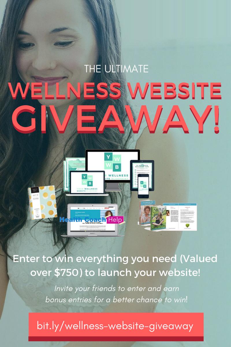 Ultimate Wellness Website Giveaway