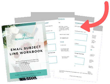 Email Subject Line Workbook Mockup
