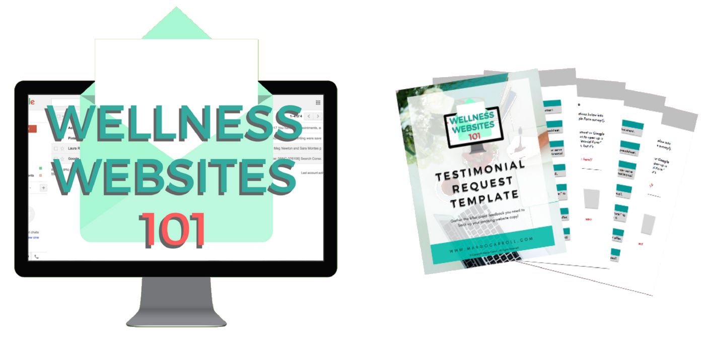 Wellness Websites 101 Mockup