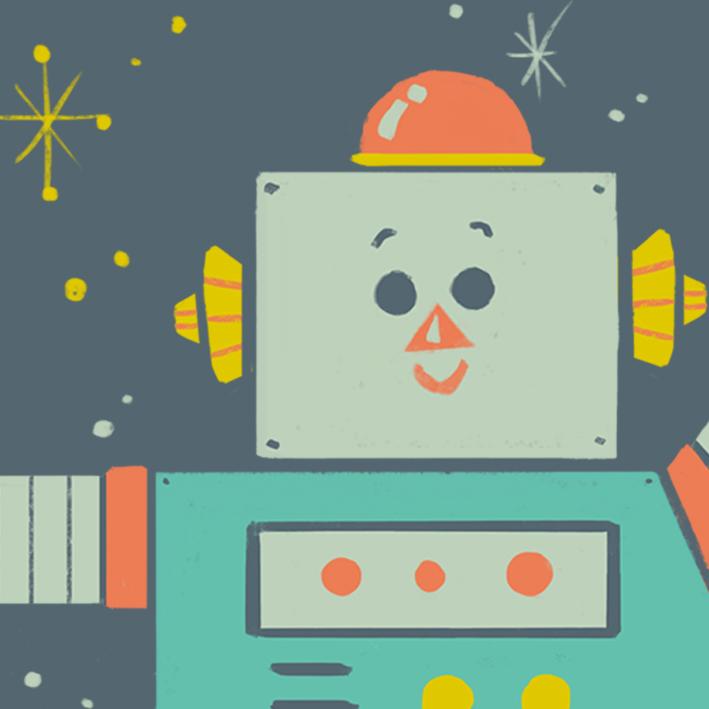 Happy Robot Dance -