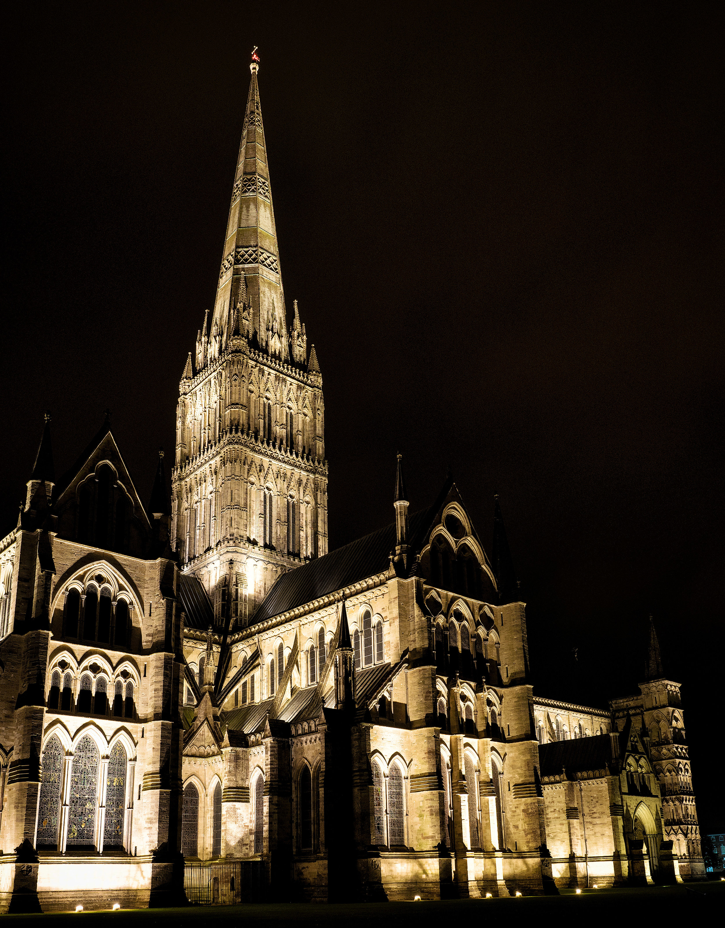 Salisbury Cathedral - England's tallest spire